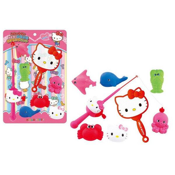 【真愛日本】15051500038 釣魚/撈魚玩具組 三麗鷗 Hello Kitty 凱蒂貓 兒童玩具 正品 限量