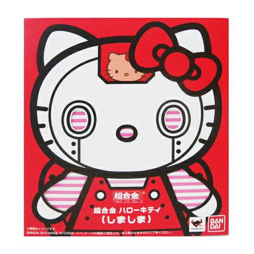 【真愛日本】15060300023 超合金鐵金剛-KT紅(日版) 三麗鷗 Hello Kitty 凱蒂貓 玩具 公仔 模型 正品 限量 預購