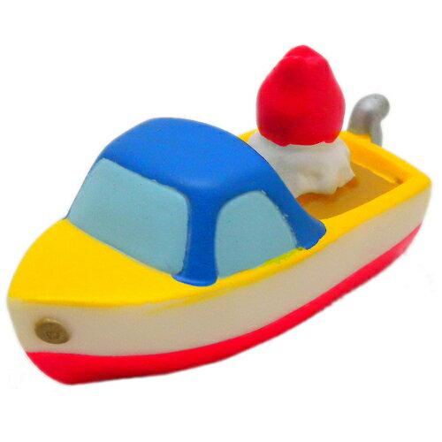<宮崎駿會館>12022000071 指套娃娃-船 崖上的金魚姬 波妞 宗介的船 日本帶回