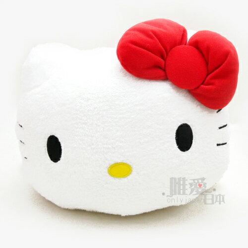 【唯愛日本】14050800001 絨毛趴姿娃-紅衣 三麗鷗 Hello Kitty 凱蒂貓 絨毛娃娃 玩偶 布偶