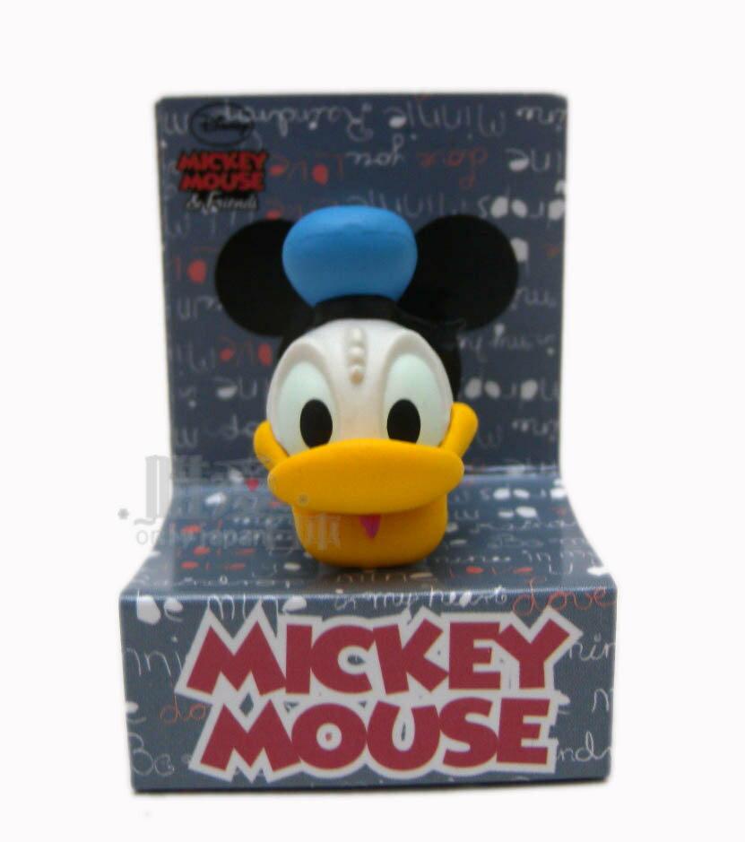 【唯愛日本】13081600032 防塵塞-立體大頭唐老鴨 迪士尼 迪士尼 米老鼠米奇 耳機孔塞