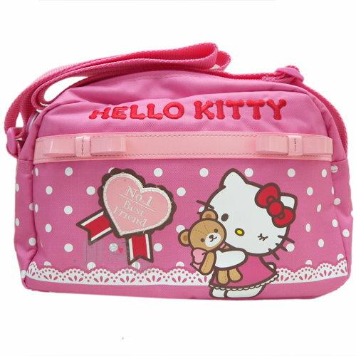 【真愛日本】13082900026 KT氣質甜心-側背包 三麗鷗 Hello Kitty 凱蒂貓 休閒背包 斜背包
