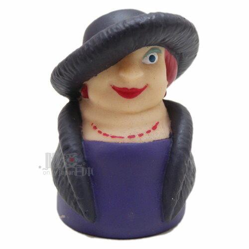 ﹝宮崎駿會館﹞13112300003 指套娃娃-荒野女巫 霍兒的移動城堡 手指娃娃 公仔 正品