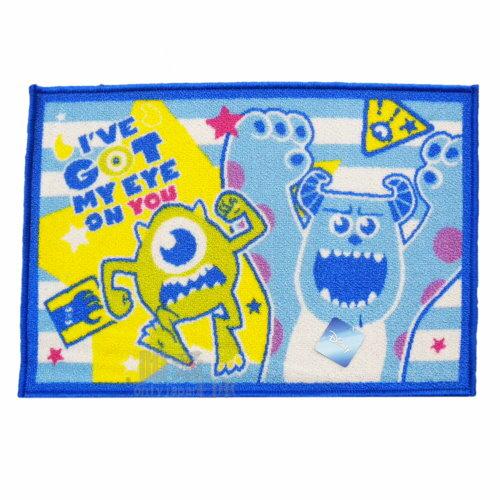 【唯愛日本】13112300023 地墊-怪獸尖叫篇 迪士尼 玩具總動員 怪獸大學 踏墊 寢具用品