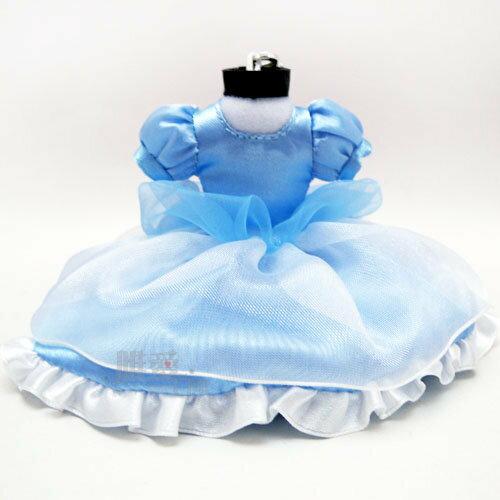 【唯愛日本】13121400020 禮服吊飾-睡美人 迪士尼專賣店限定 公主系列 鑰匙圈 鎖圈 預購