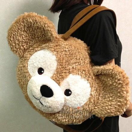 真愛日本:【真愛日本】17022700042經典頭型肩側背包袋-達菲大臉newDuffy達菲熊&ShellieMay斜背包手提包