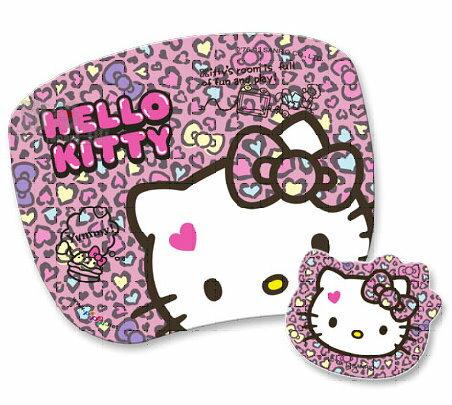 【唯愛日本】13121700035 高彈性子母型滑鼠墊-KT摩登粉 三麗鷗 Kitty 凱蒂貓 電腦週邊用品