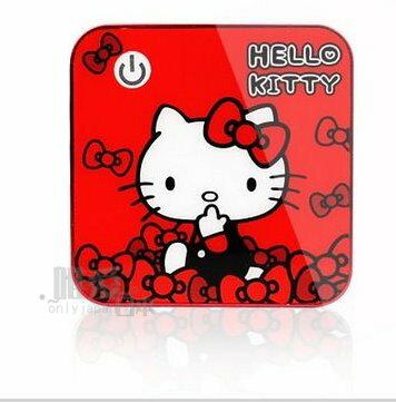 【真愛日本】14022700004 電力銀行-炫彩合金紅 三麗鷗 Hello Kitty 凱蒂貓 行動電源 手機充電器
