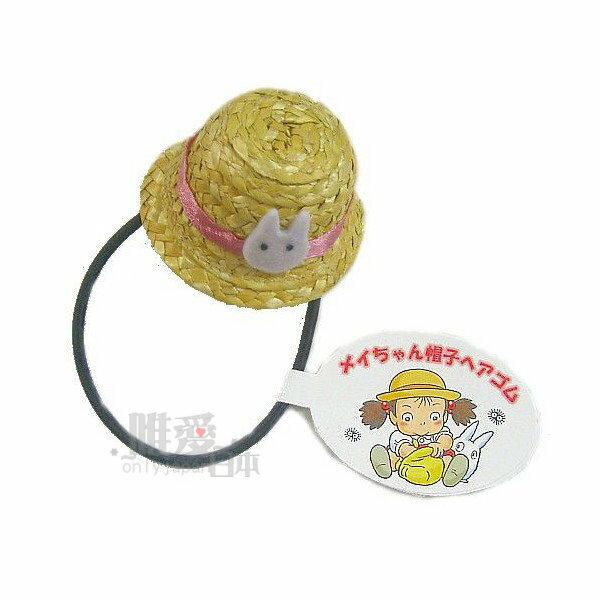 【真愛日本】14032700048髮束-小米帽子小白龍貓 龍貓 TOTORO 豆豆龍 髮飾 髮束 正品