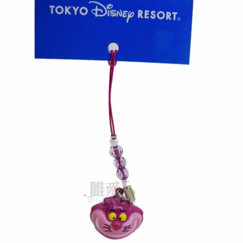【唯愛日本】14032800061 限定DN鈴鐺頭根付-妙妙貓 迪士尼 米老鼠米奇 米妮 手機吊飾