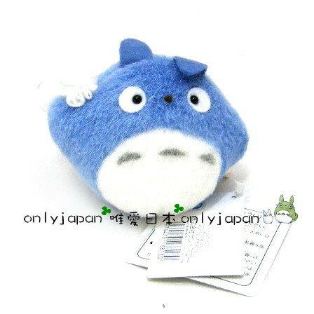 【真愛日本】 16072900001  拉震娃-中龍貓藍  龍貓TOTORO豆豆龍  震動 絨毛 娃娃 玩具