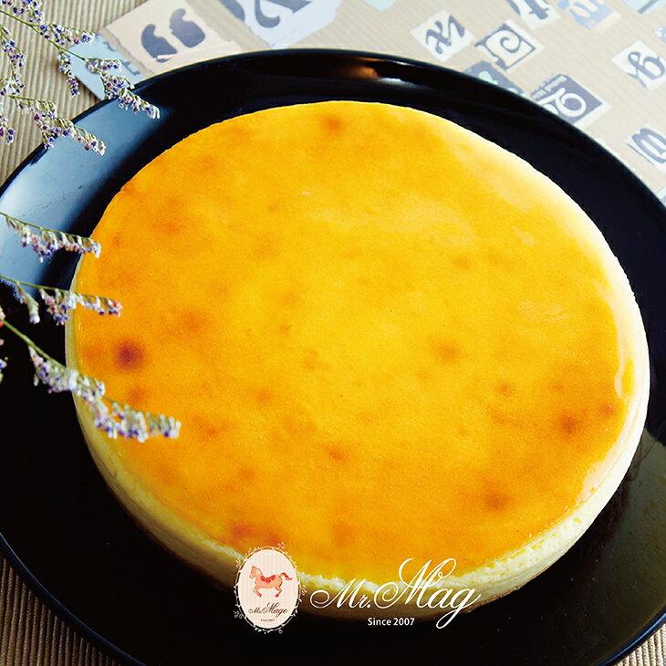 (免運)濃酪起士蛋糕 6吋【馬各先生】選用頂級澳洲乳酪,奶香濃郁略帶酸味,搭配手工自製酥脆餅皮,每一口都能嘗到綿密厚實乳酪,特別適合喜歡重乳酪的您。 1