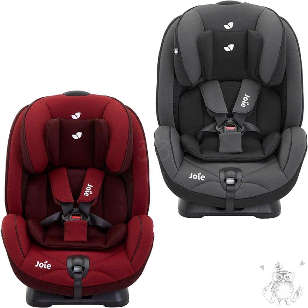 [現貨] Joie stages 0-7歲成長型安全座椅-紅色/黑色