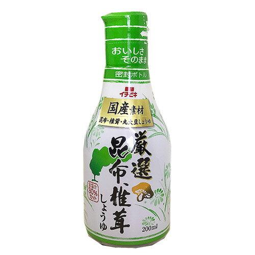 卓上昆布香菇醬油 200ml/瓶【愛買】
