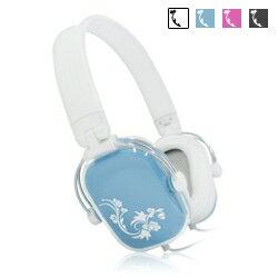 ~迪特軍3C~彩繪方塊 耳機麥克風^(YL~MV4^) 粉 藍 黑 白 音質優異 可折疊攜
