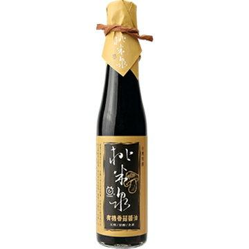 【桃米泉】 有機香菇醬油 420g/瓶