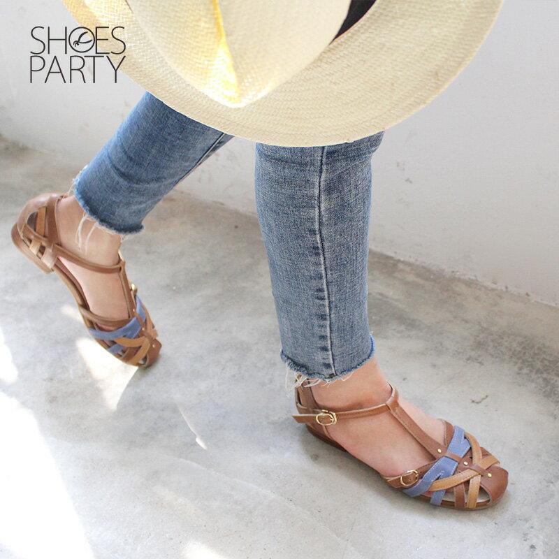 【S2-18514L】SP經典復刻版手工編織涼鞋_Shoes Party 1