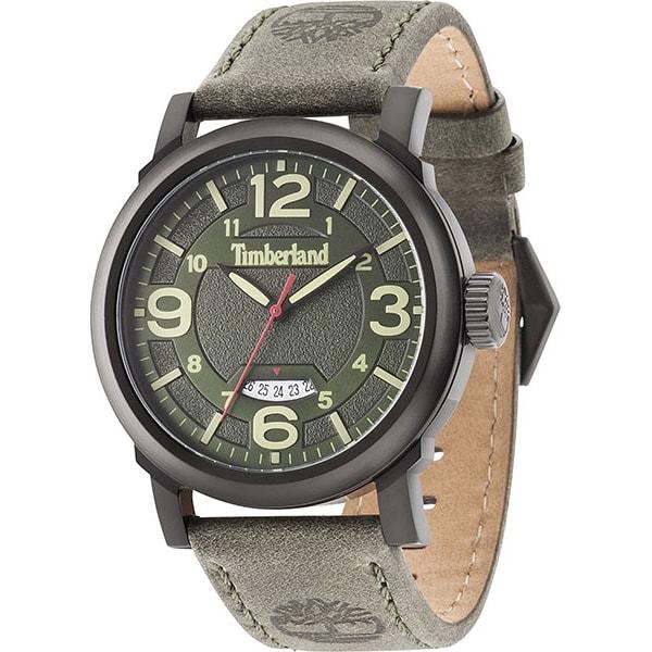 Timberland天柏嵐TBL.14815JSB19美式潮流時尚腕錶綠面46mm
