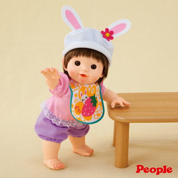 美馨兒*POPO-CHAN兔帽寶貝1160元