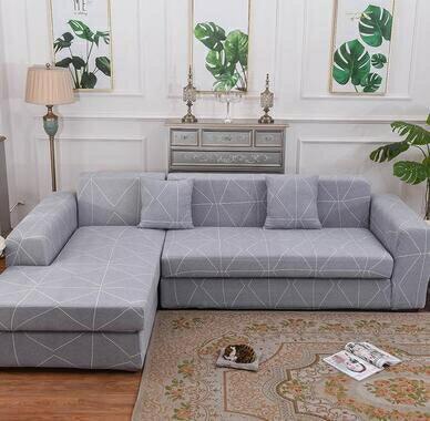 沙發套 四季款簡約現代 一二三貴妃組合沙發套 沙發罩L型組合 全包萬能套 微愛家居