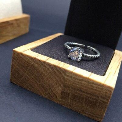 925純銀戒指鑲鑽銀飾~日韓優雅極光炫彩生日情人節 女飾品73ic56~ ~~米蘭 ~