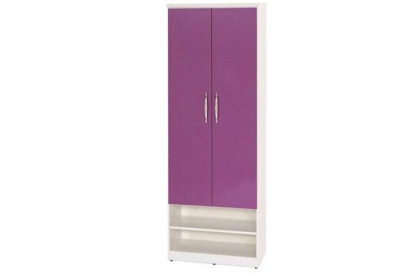 石川家居:【石川家居】882-02(紫白色)鞋櫃(CT-327)#訂製預購款式#環保塑鋼P無毒防霉易清潔