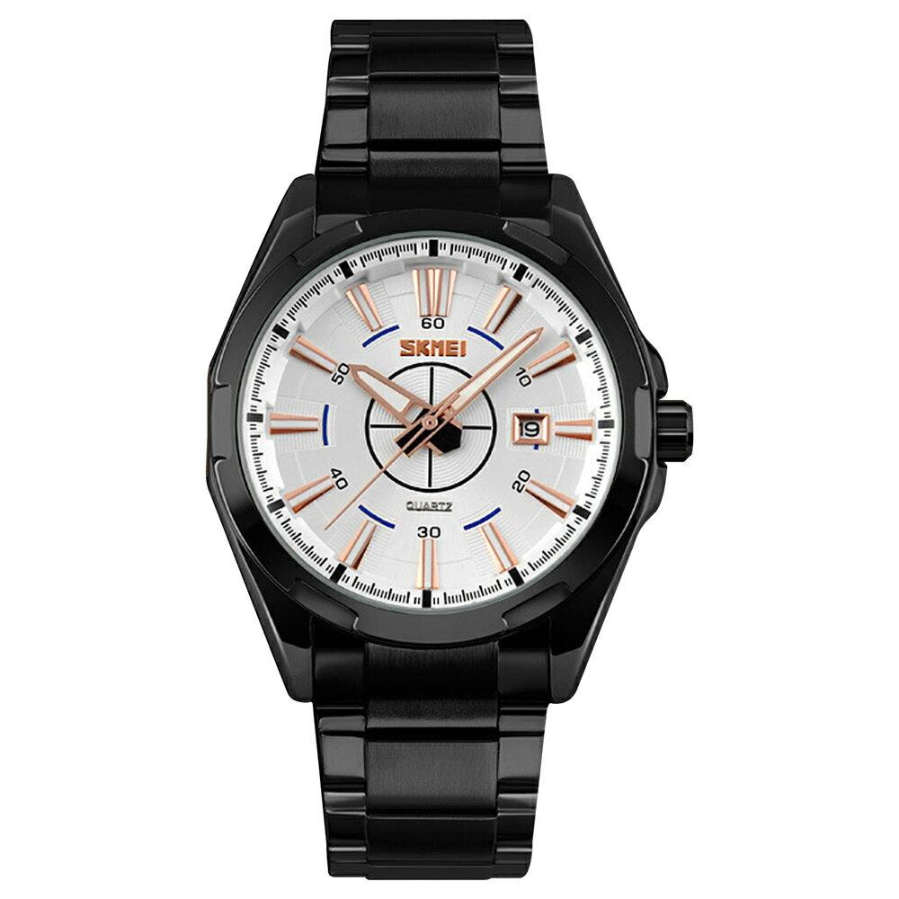 SKMEI 時刻美 9118 鋼帶時尚石英錶 2