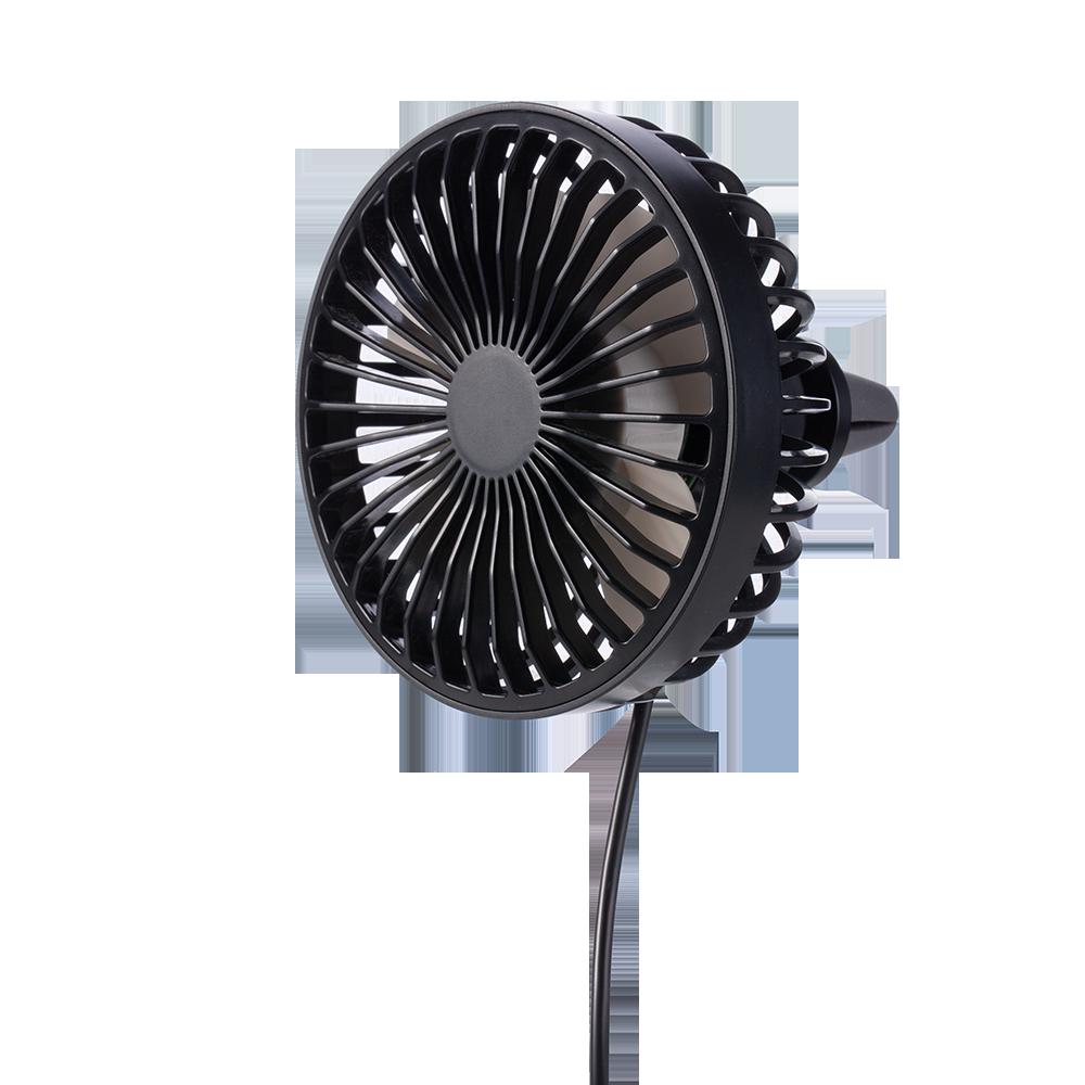 USB汽車風扇 冷氣出風口車扇 夜燈 桌扇 (USB電源) F829
