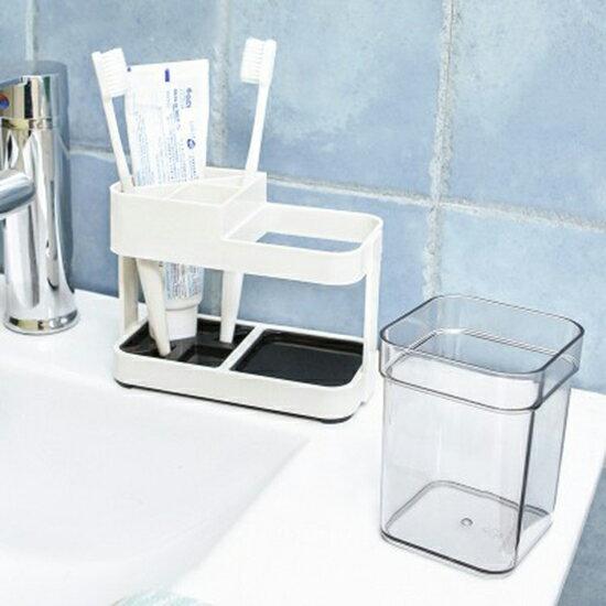 Mycolor:♚MYCOLOR♚簡約洗漱杯牙刷座套裝(單杯)塑料刷牙缸單雙置物架創意情侶【L174-1】