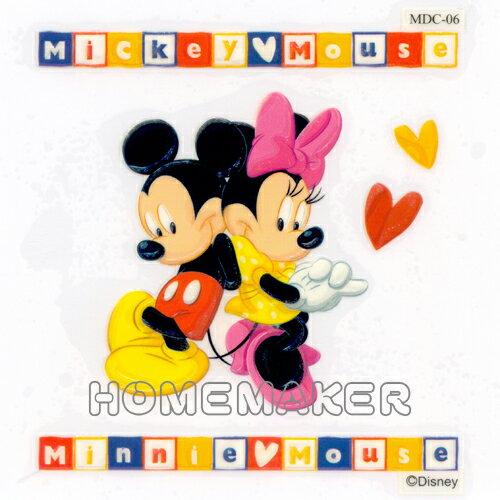 Disney 立體轉印貼紙 HS-MDC06