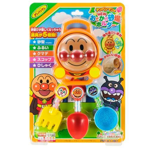 日本 ANPANMAN 麵包超人 挖沙玩具組 沙灘玩具 *夏日微風*