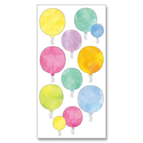 *小徑文化*日本進口 MIND WAVE 和紙貼紙 水彩系列 - 氣球 ( 77632 )