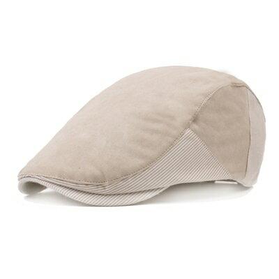 貝雷帽鴨舌帽-簡約休閒遮陽棉質男女帽子4色73tv47【獨家進口】【米蘭精品】