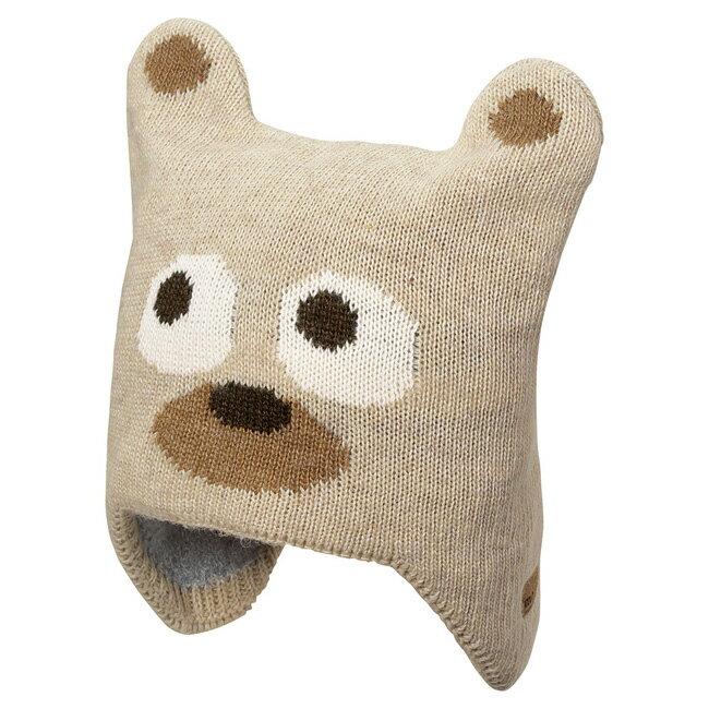 【鄉野情戶外用品店】mont-bell |日本| MontaBear 保暖帽/羊毛針織帽 毛線帽 熊/1118329 《兒童款》