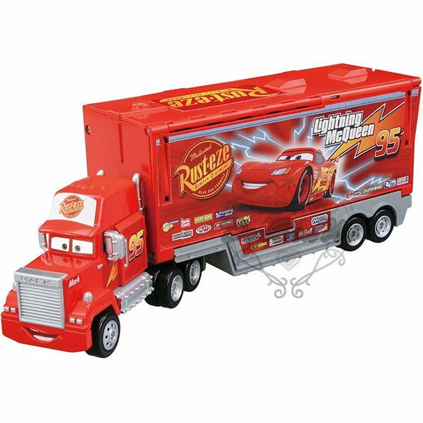TOMY多美CARS麥大叔超變形貨車模型可收納小汽車849568海渡