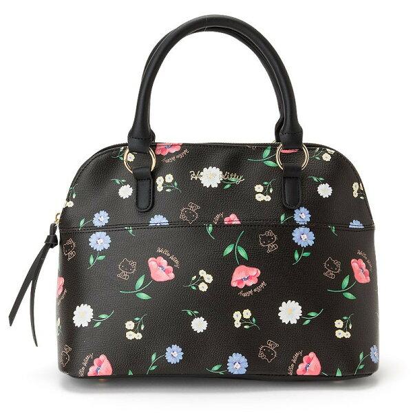 X射線【C526927】HelloKitty波士頓提包-花,美妝小物包媽媽包面紙包化妝包零錢包收納包皮夾手機袋鑰匙包