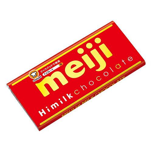 明治代可可脂濃牛奶巧克力片裝 50g【愛買】