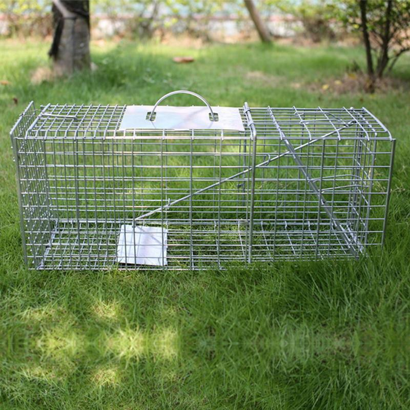 Raccoon Skunk Humane Animal Trap Cage Animal Live 2
