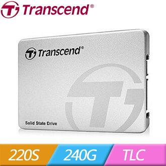 Transcend 創見 2.5吋 220S 240G SATA3 SSD 固態硬碟(0760557835608) 【全站點數 9 倍送‧消費滿$999 再抽百萬點】