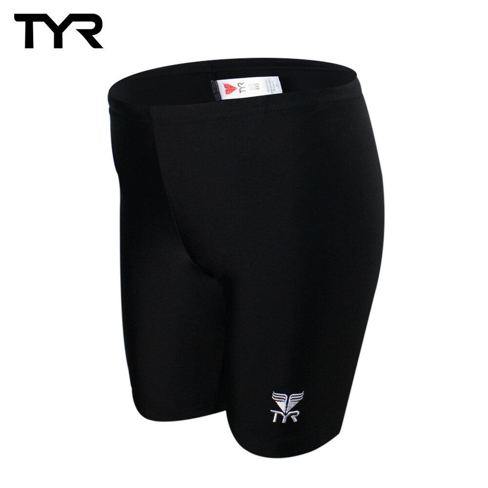美國TYR兒童及膝黑色訓練款泳褲Solid Jammer JUNIOR 台灣總代理 - 限時優惠好康折扣