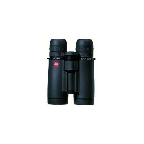 Leica 40400 8-12x42 Duovid Black Water Proof Roof Prism Binocular