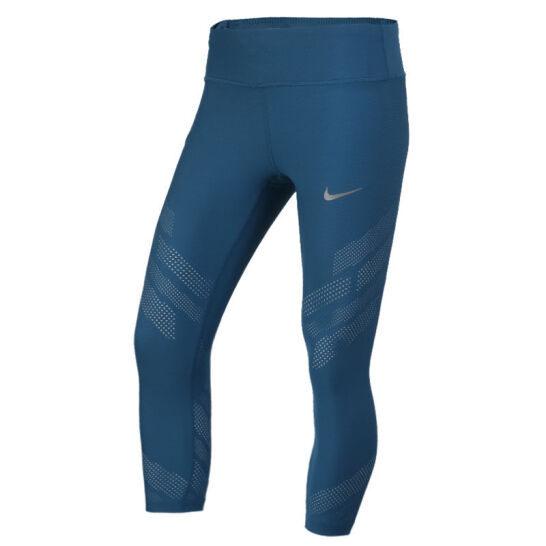 NIKE RUNNING 女裝 長褲 緊身 內搭 慢跑 訓練 舒適 藍 【運動世界】 831880-457