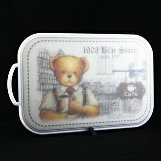 【珍昕】 韓國銀離子故事熊雙面砧板~大(445x260x14mm)
