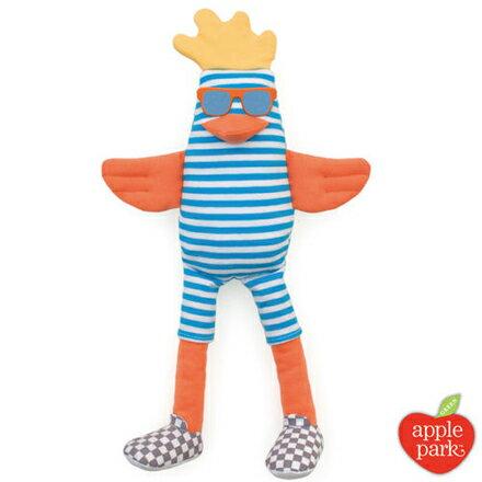 【悅兒樂婦幼用品?】美國 Apple Park【農場好朋友系列】有機棉安撫玩偶-衝浪酷雞