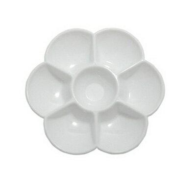 小梅花盤調色盤水彩盤(NC075)