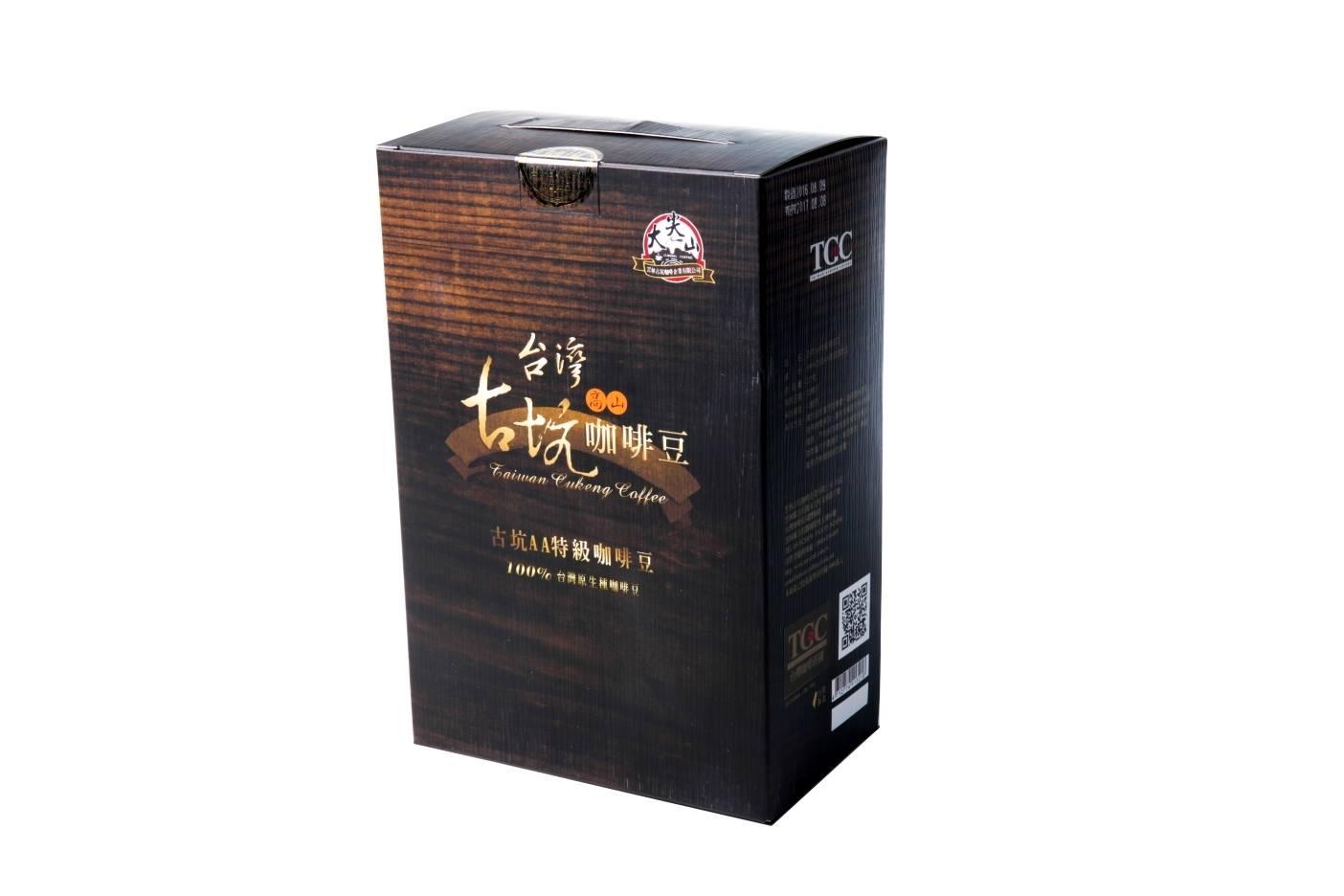 [古坑咖啡~TGC]台灣古坑AA特級咖啡豆-半磅
