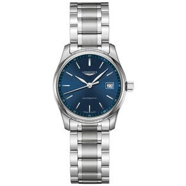 LONGINES浪琴表L22574926巨擘優雅經典機械腕錶藍面29mm