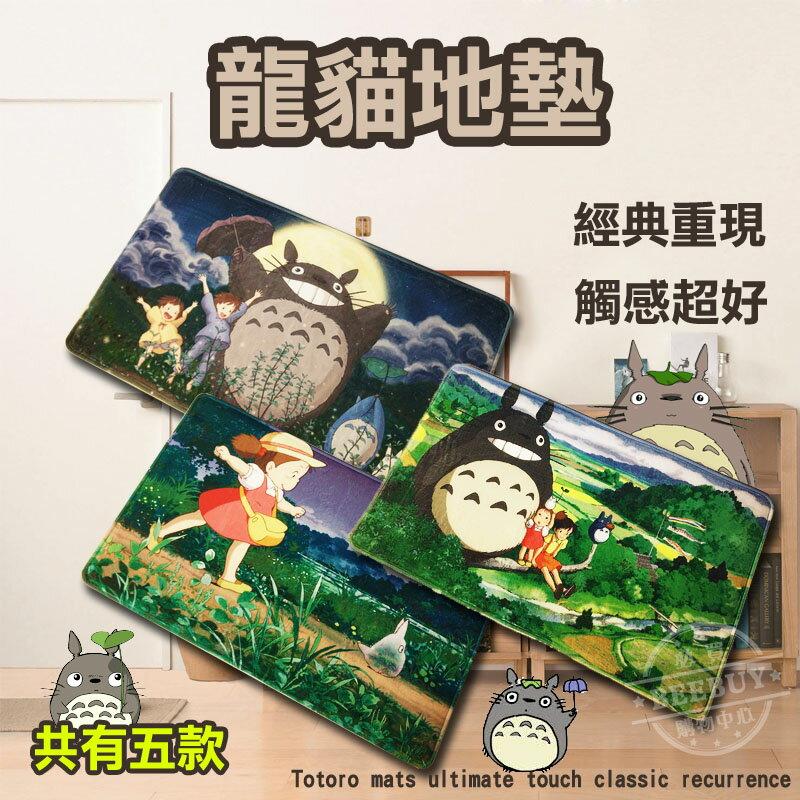 日本卡通系列商品 - 龍貓 Totoro 地墊 腳踏墊 吉卜力 宮崎駿 豆豆龍