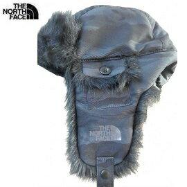 [ THE NORTH FACE ] 刷毛保暖飛行帽 黑迷彩 / 公司貨 NF0A2T6EKGC