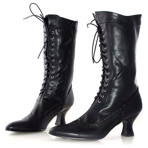 Women's Amelia Boot - Color: Black PU, Size: 7 0